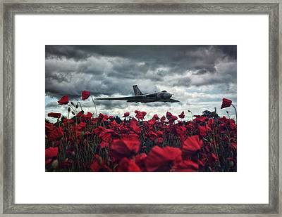 Farewell To The Spirit Of Great Britain  Framed Print by Jason Green