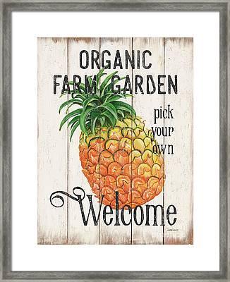 Farm Garden 1 Framed Print by Debbie DeWitt