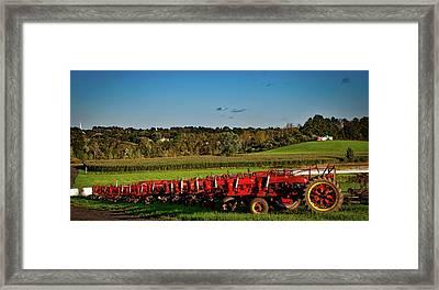 Farmall Heaven Framed Print by Mountain Dreams