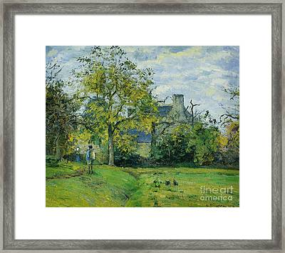 Farming Framed Print by Celestial Images