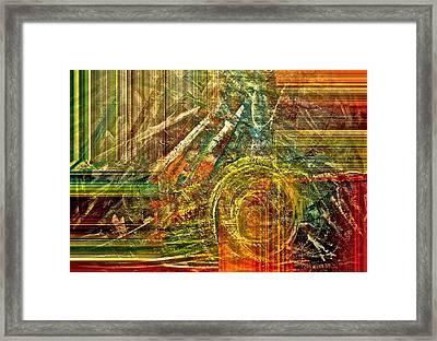 Farming Framed Print by Gwyn Newcombe