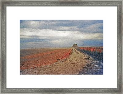 Farmland 3 Framed Print by Steve Ohlsen