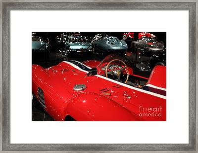 Farrari View Framed Print by Wingsdomain TransportationArt