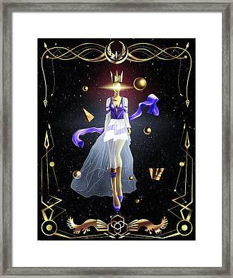Fashion Goddess No. 2 Framed Print by Pierre Louis