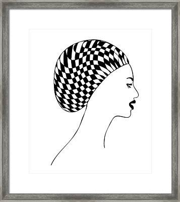 Fashion Illustration Framed Print by Frank Tschakert