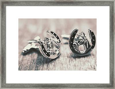 Fashion Links To The Melbourne Cup Framed Print by Jorgo Photography - Wall Art Gallery
