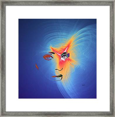 Fashion Meets Technology Framed Print by Anthony Caruso