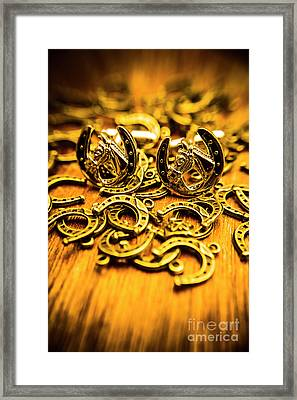 Fashions On The Field Framed Print by Jorgo Photography - Wall Art Gallery