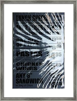 Fast Food Framed Print by Ross Odom