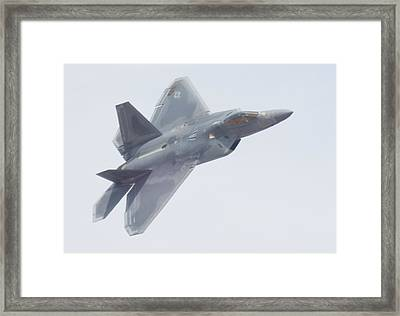 Fast From Your Left Framed Print by Caryl J Bohn