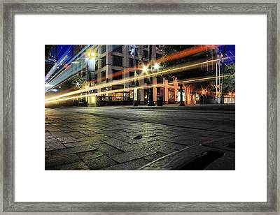Fast Speed Framed Print by Gulf Island Photography and Images