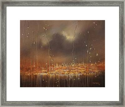 Fasten Seatbelts Framed Print by Tom Shropshire