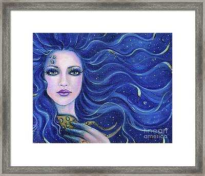 Fatal Beauty Mermaid Art Framed Print by Renee Lavoie