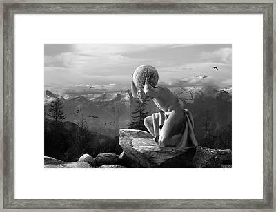 Fate Framed Print by Marc Huebner