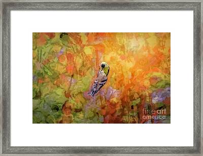 Father And Child Framed Print by Marci Potts