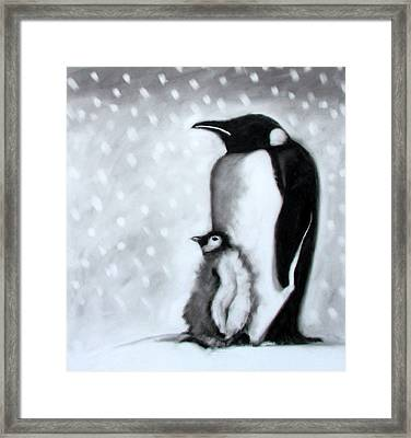 Father And Son Framed Print by Paul Powis