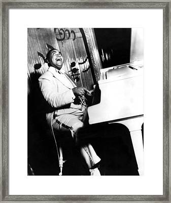 Fats Waller, Real Name Thomas, Photo Framed Print by Everett