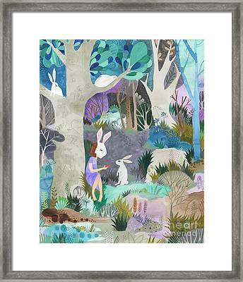 Faux Fur Framed Print by Kate Cosgrove