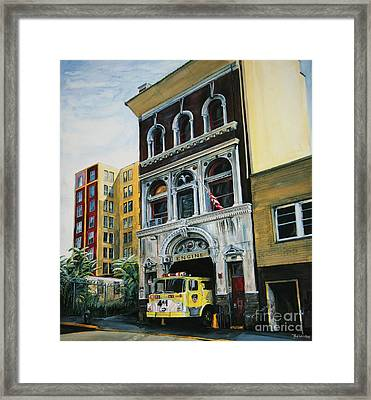 Fdny  Engine Company 41 Framed Print by Paul Walsh