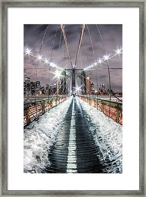 Fear And Adventure Framed Print by Joshua Ball