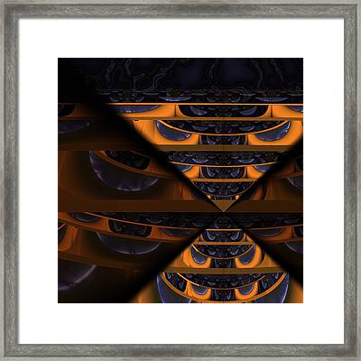 Fear Of What Others Might Think Framed Print by Vic Eberly