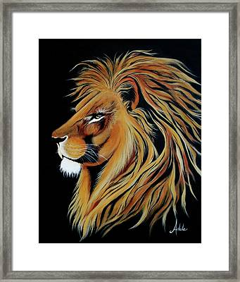 Fearless Framed Print by Adele Moscaritolo