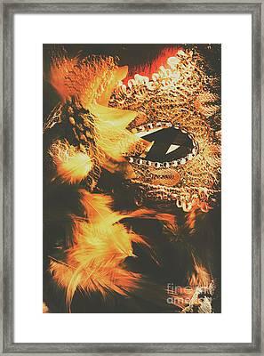 Feathers And Femininity  Framed Print by Jorgo Photography - Wall Art Gallery