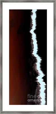 Feeling The Wind Framed Print by Amanda Barcon
