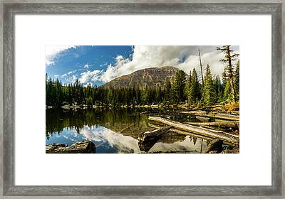 Fehr Lake Framed Print by TL Mair