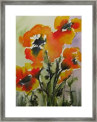 Felicity Framed Print by Anne Duke