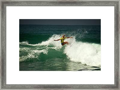 Felicity Palmateer Aus Framed Print by Waterdancer