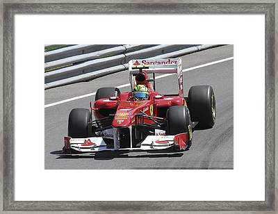 Felipe Massa Framed Print by Art Ferrier