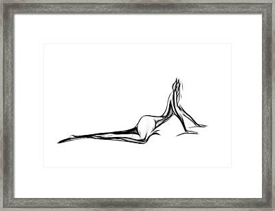 Female Shapes Framed Print by Steve K