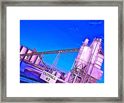 Feminizing The Workplace Framed Print by Chuck Taylor