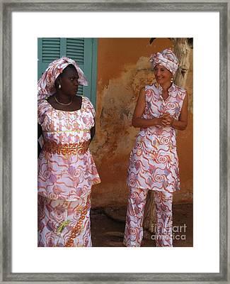 Femmes De Goree Framed Print by Fania Simon