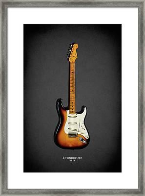Fender Stratocaster 54 Framed Print by Mark Rogan