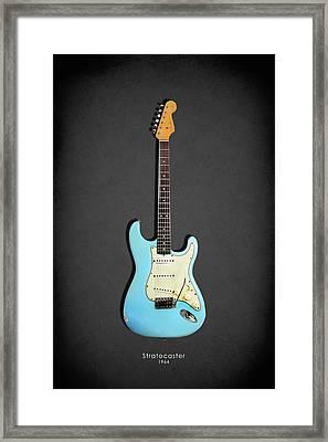 Fender Stratocaster 64 Framed Print by Mark Rogan