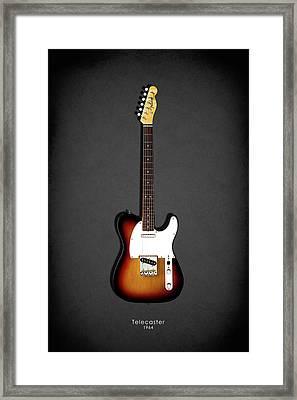 Fender Telecaster 64 Framed Print by Mark Rogan