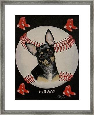Fenway Framed Print by Judith Killgore