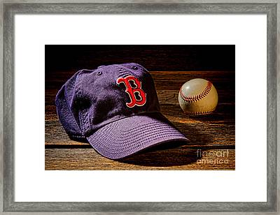 Fenway Memories Framed Print by Olivier Le Queinec