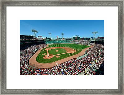 Fenway Park - Boston Red Sox Framed Print by Mark Whitt
