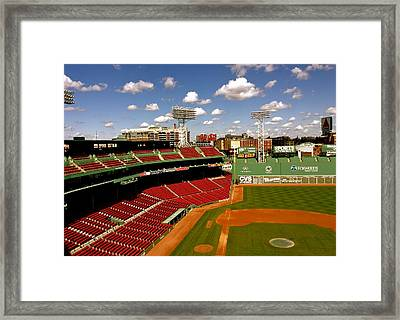 Fenway Park Iv  Fenway Park  Framed Print by Iconic Images Art Gallery David Pucciarelli