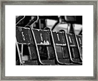 Fenway Too Framed Print by Donna Shahan