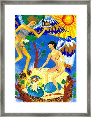 Feral Angels Framed Print by Sushila Burgess