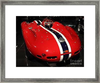 Ferarri Racing Stripes 7d1852 Framed Print by Home Decor