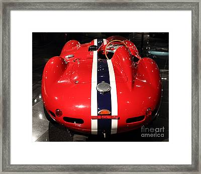 Ferarri Racing Stripes 7d1855-3 Framed Print by Home Decor