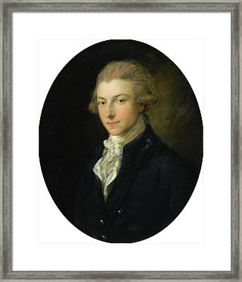 Ferdinand Quentin De Richebourg Framed Print by Thomas Gainsborough