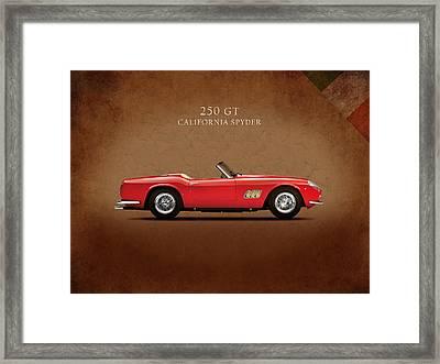 Ferrari 250 Gt 1960 Framed Print by Mark Rogan