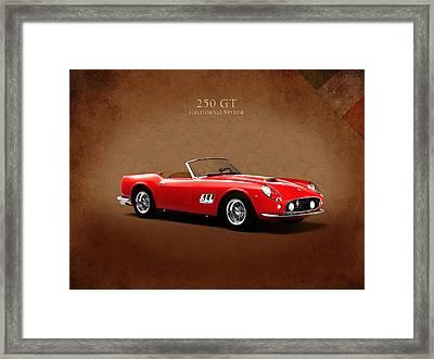 Ferrari 250 Gt Framed Print by Mark Rogan