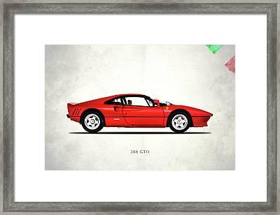 Ferrari 288 Gto 1985 Framed Print by Mark Rogan